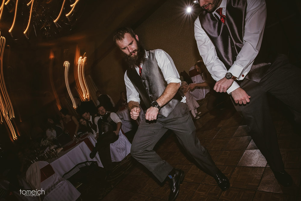 groomsmen know how to party
