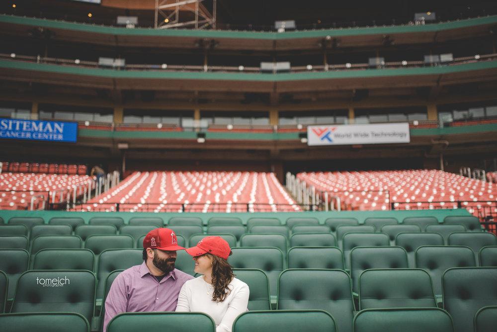 baseball engagement idea