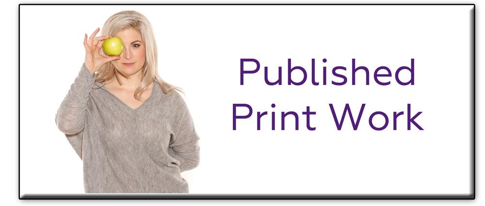 PublishedPrintWork