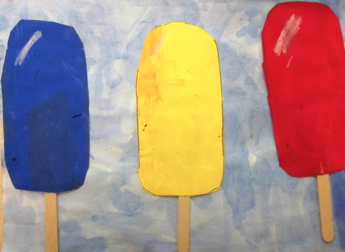 Art Vocabulary Retention That Resulted From Them And How Fun Summery They Look Many Kindergarteners Are Now Able To Recall The Primary Colors