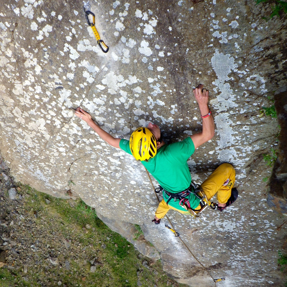 September: Putting up new routes in NorthWales