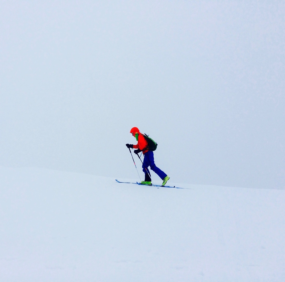 cracking skimo training conditions (Photo: Tim H)