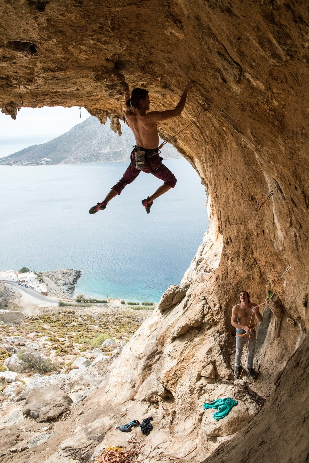 October, I had the opportunity to participate in the kalymnos climbing festival in Greece with Evolv. Thanks Danial for the catch!