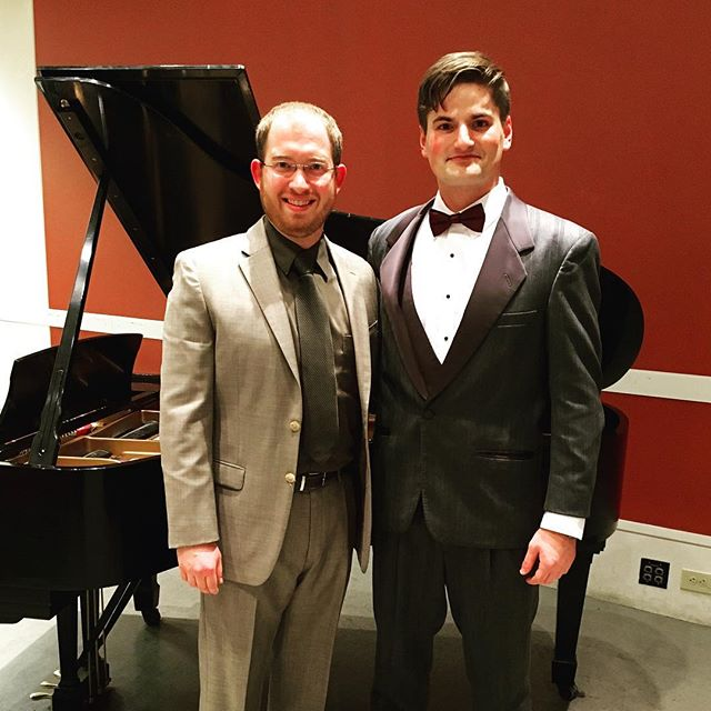 Great recital with the fantastic John Humphrey!