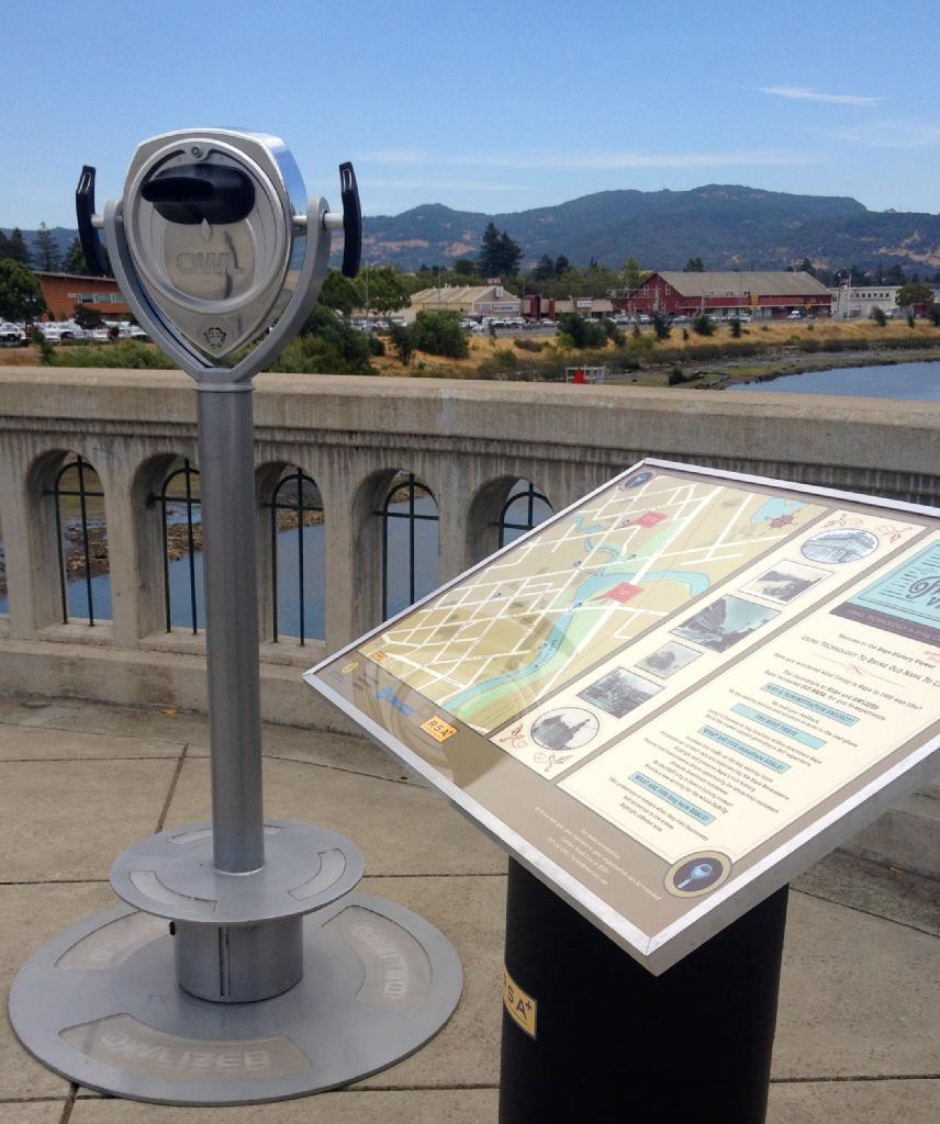 Interpretive Sign/ Map Design | Napa History Viewer