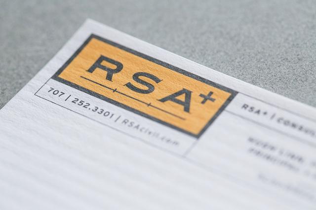 Letterhead design | RSA+