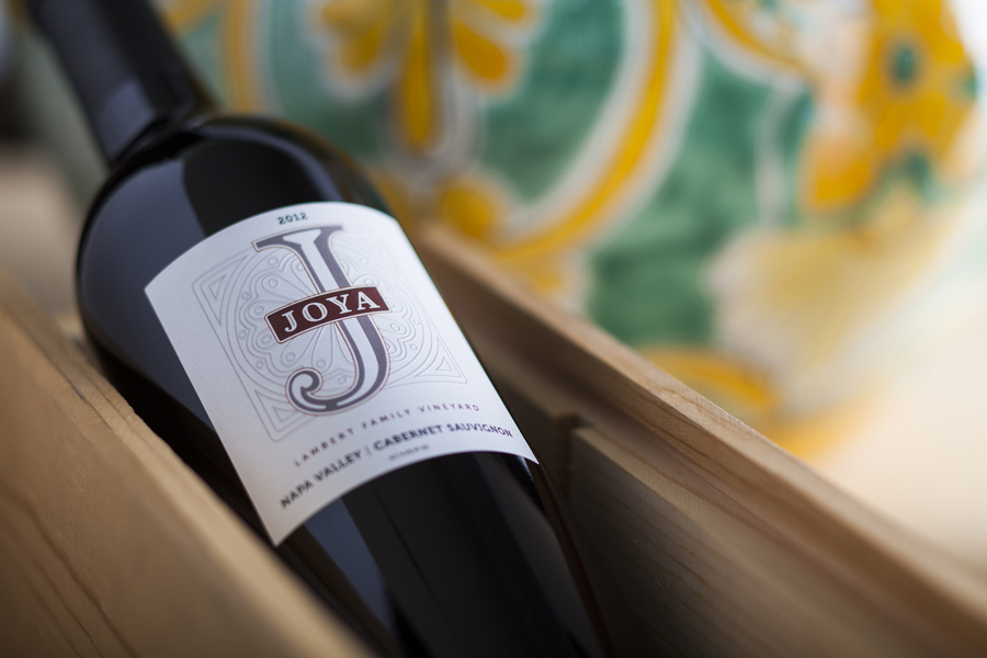 Joya Wine Company logo & label | Linn Design Studio
