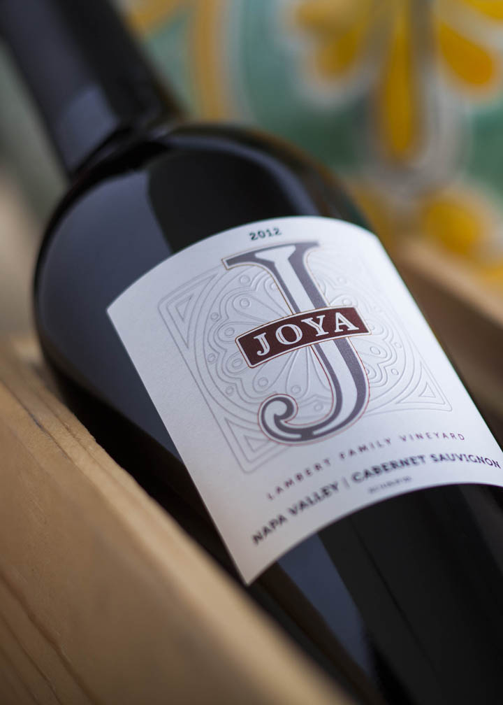 Joya Wine Company Wine Label Design
