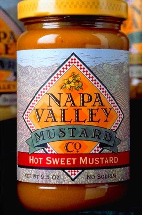 Napa Valley Mustard Package design