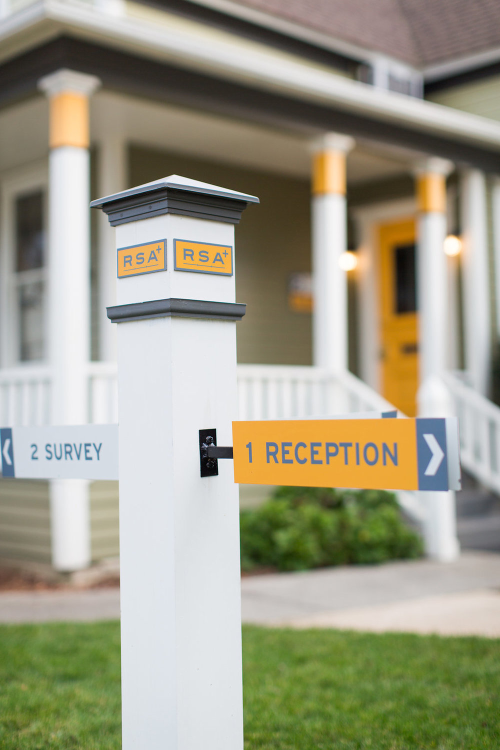 Wayfinding | Sign Design | Exterior Color Design