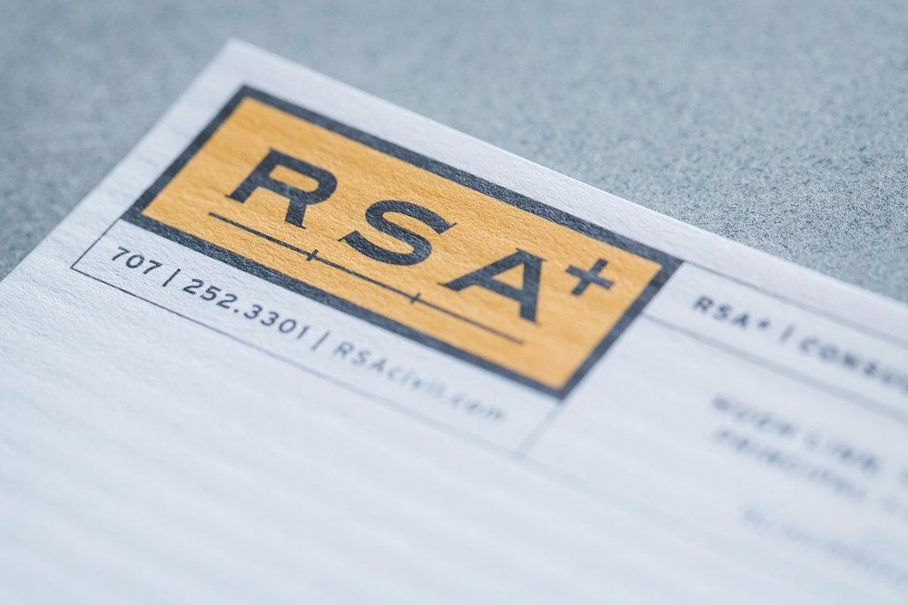 RSA+ Logo & Branding