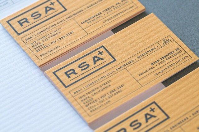 RSA+ Business Card | LinnDesignStudio.com