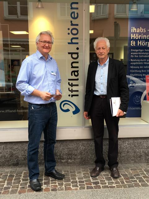 Klaus Wenzler von Iffland Hören und Robert Cahen