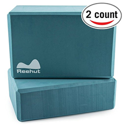 Reehut Yoga Blocks - Pack of 2