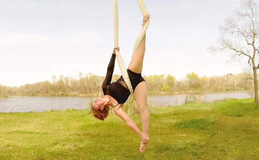 Michelle Teeters Aerial Silks