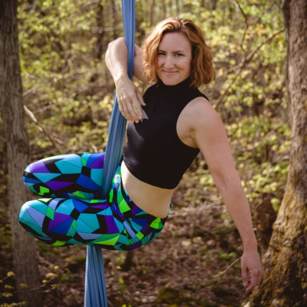 Michelle Teeters Aerial Silks
