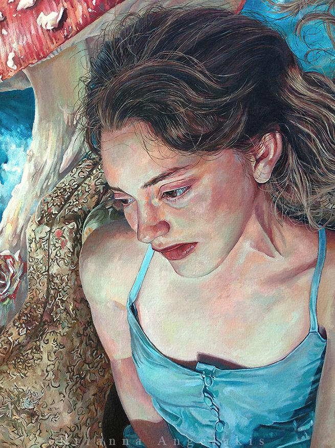 Alice of Wonderland (detail)