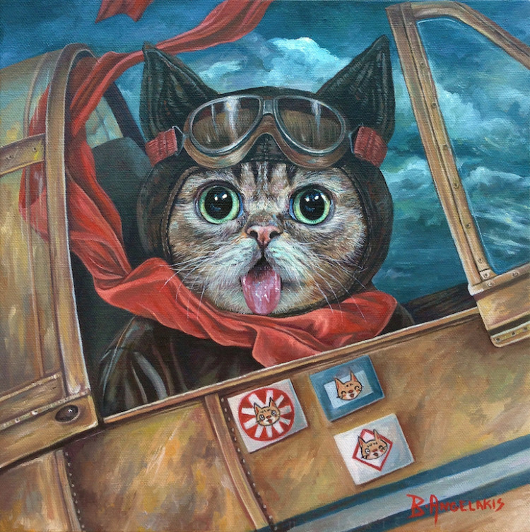 Lil Bub Takes Flight (2013)