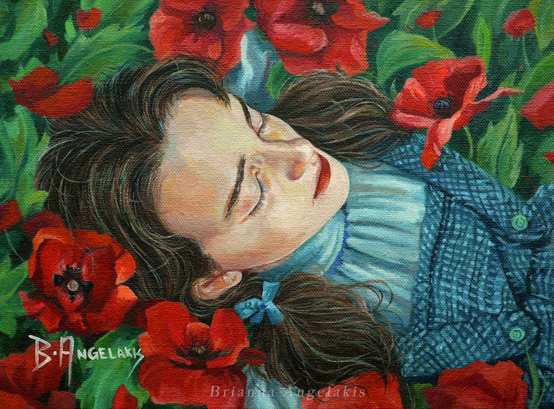 Amidst Poppies (2014)