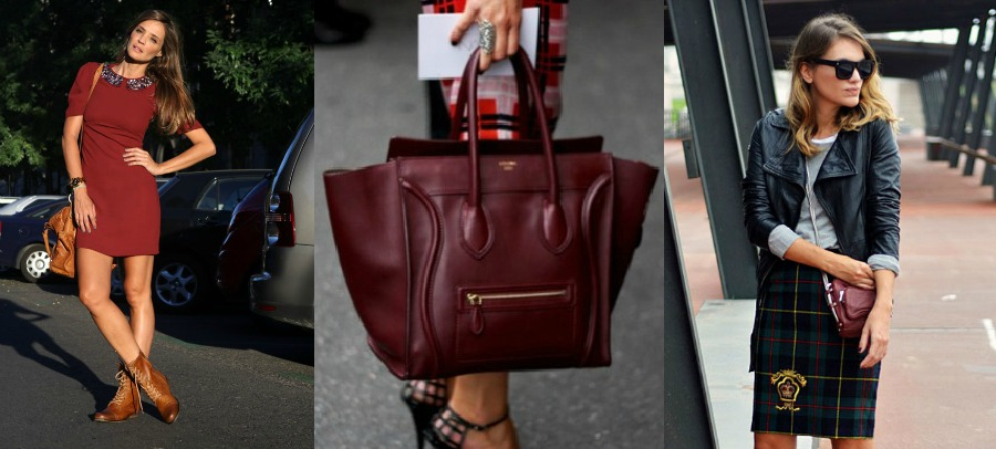 1.  Lady Addict   2. Burgundy Céline Hand Bag  3.  My Daily Style