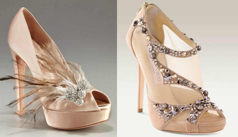1. Dior wedding collection 2013.  2. Jimmy Choo 2013.