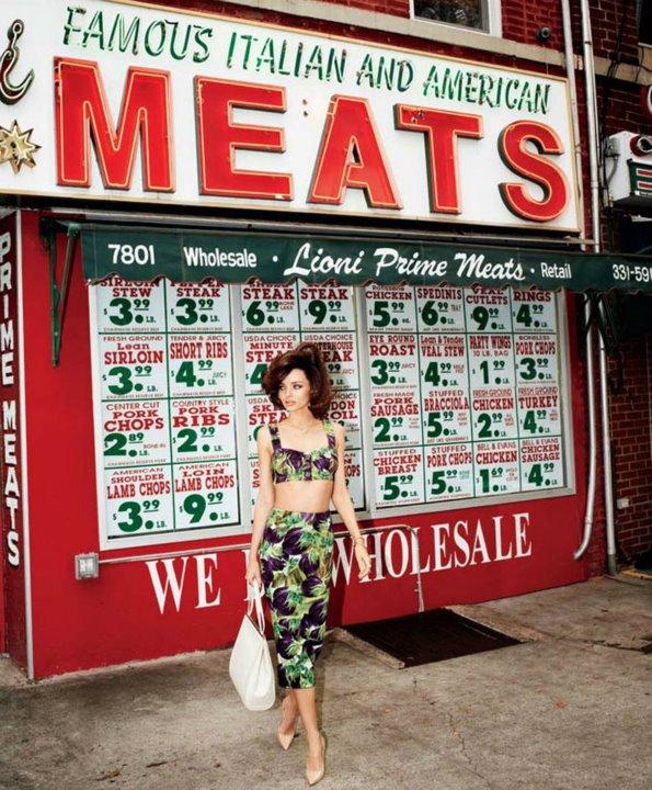 Vogue July 2012/ Miranda Kerr