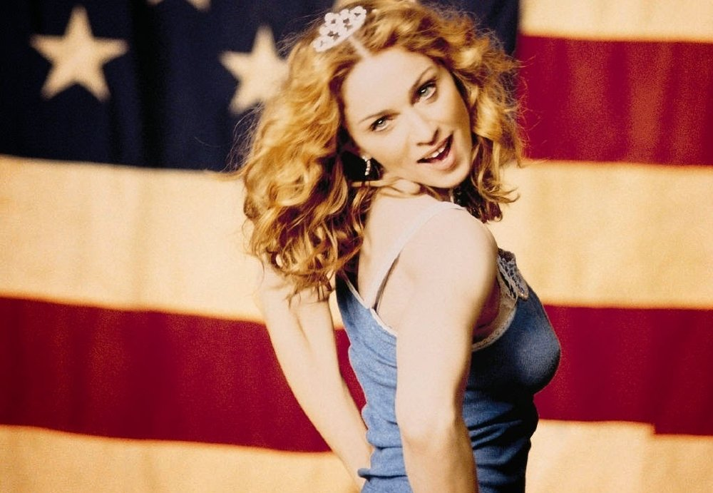 Madonna music video 'American Pie', 2000