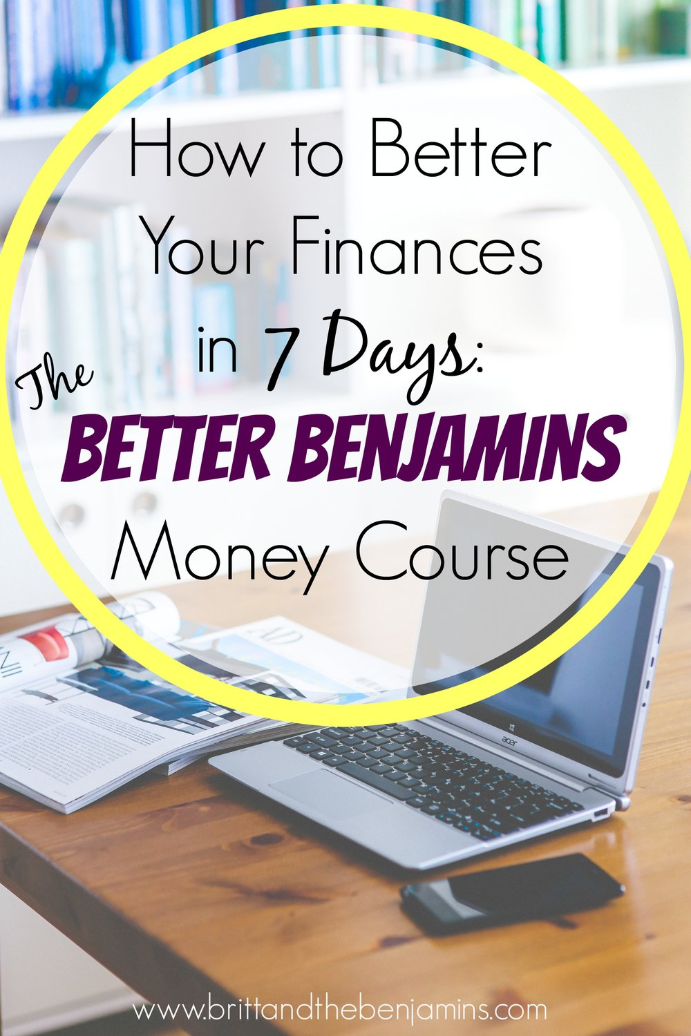 better benjamins money course