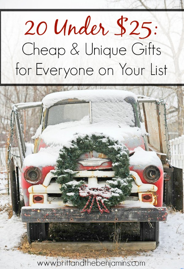 cheap Christmas gifts