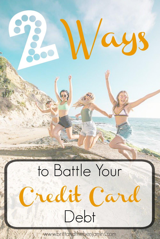 credit card debt solutions