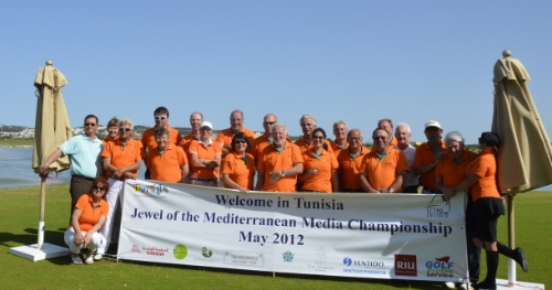 EGTMA Members during the 'Jewel of the Med' Championship - Tunisia 2012.