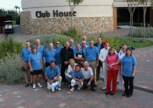 EGTMA Delegates at Roda Golf Club following the PGAe Media Masters in Murcia.