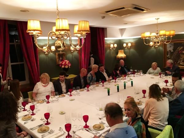 Michelin Star dining at the Casa de Calcada Relais & Chateaux Hotel.
