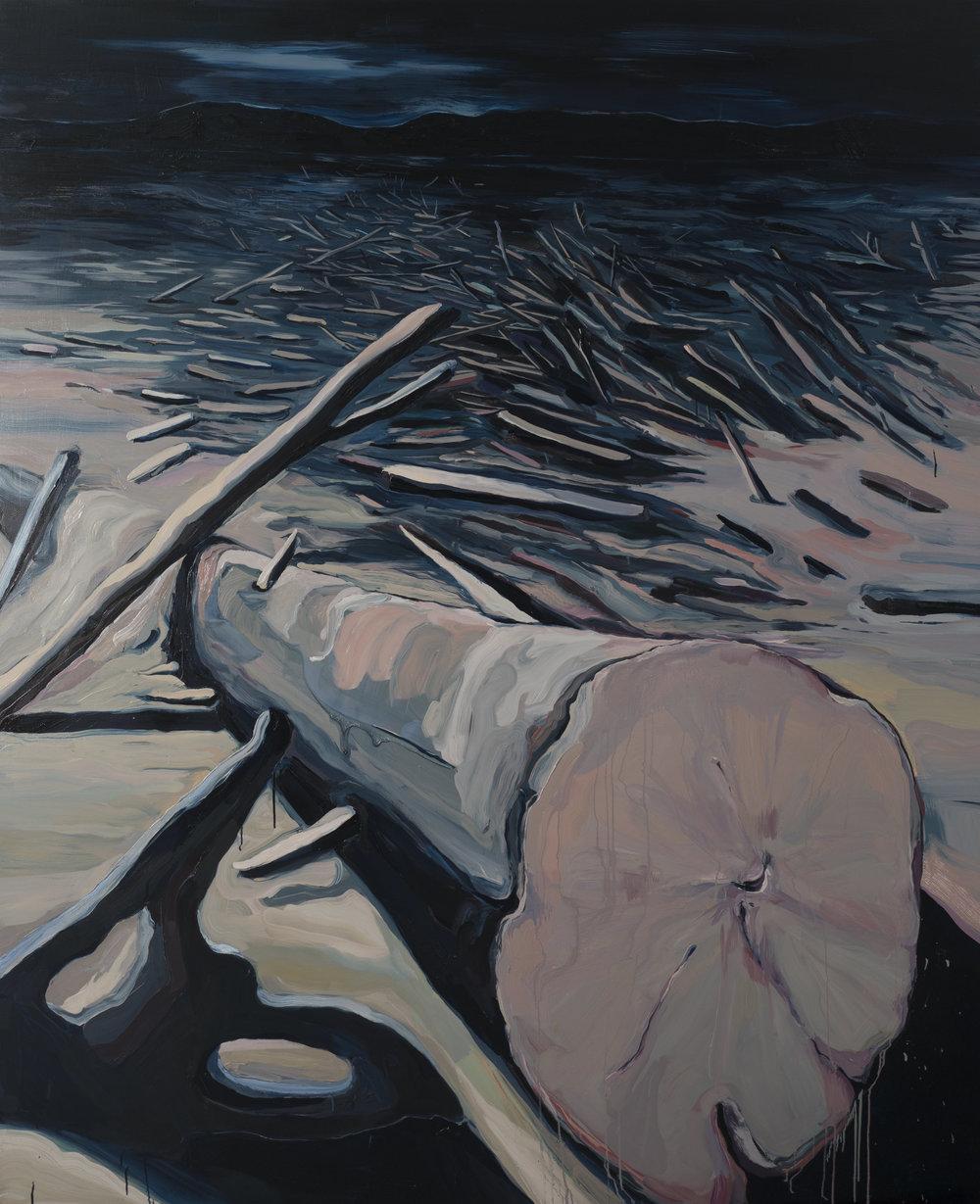 Sylvia Fernández. Perdidos, 2017. Óleo sobre tela. 245 x 200 cm.jpg