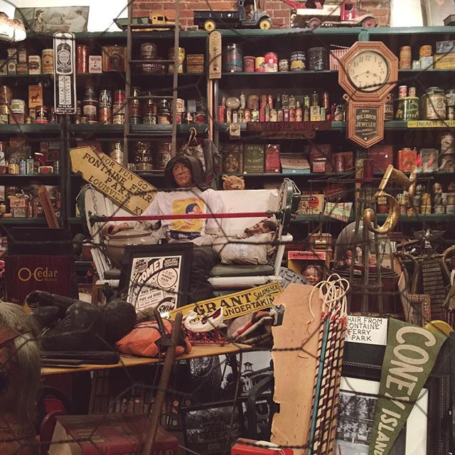 My MIL @kleanhart introduced me to my new favorite spot in Louisville: four floors of antiques and architectural salvage. We're almost back in Philly now, but as always I already can't wait to come back!