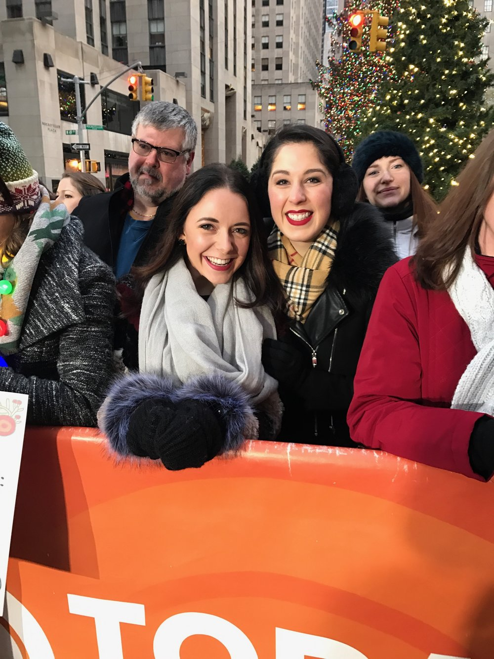 We were on the Today Show and appeared on live national television!