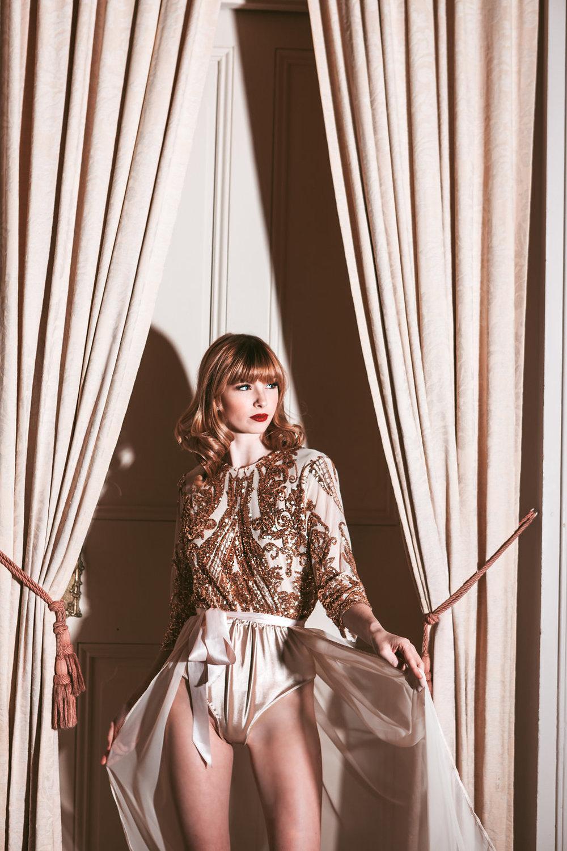 Sophia Andries wearing Madalyn Joy Designs photographed by Tif Cohen in Milwaukee, WI. 2017.