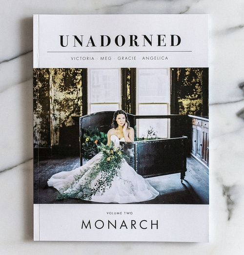 UNADORNED V2 - Unadorned Magazine strives to be an essential resource for the inspired bride and the best platform for creative wedding professionals and entrepreneurs to artfully showcase their innovative ideas.READ MORE
