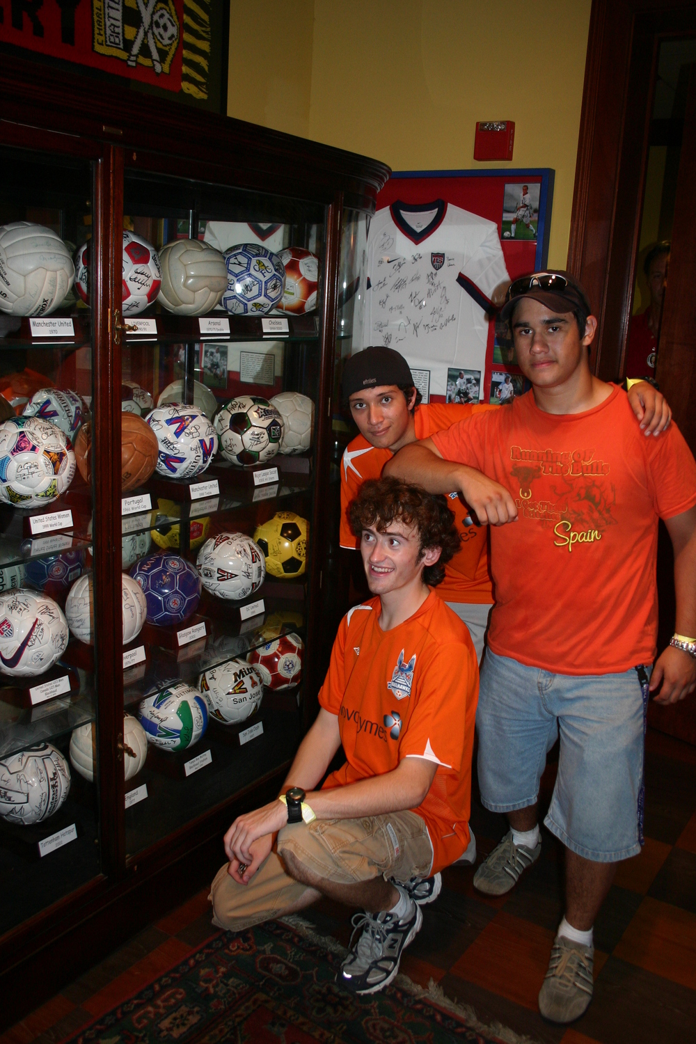 TSF Members tour the Three Lions Pub at Charleston Battery's Blackbaud Stadium