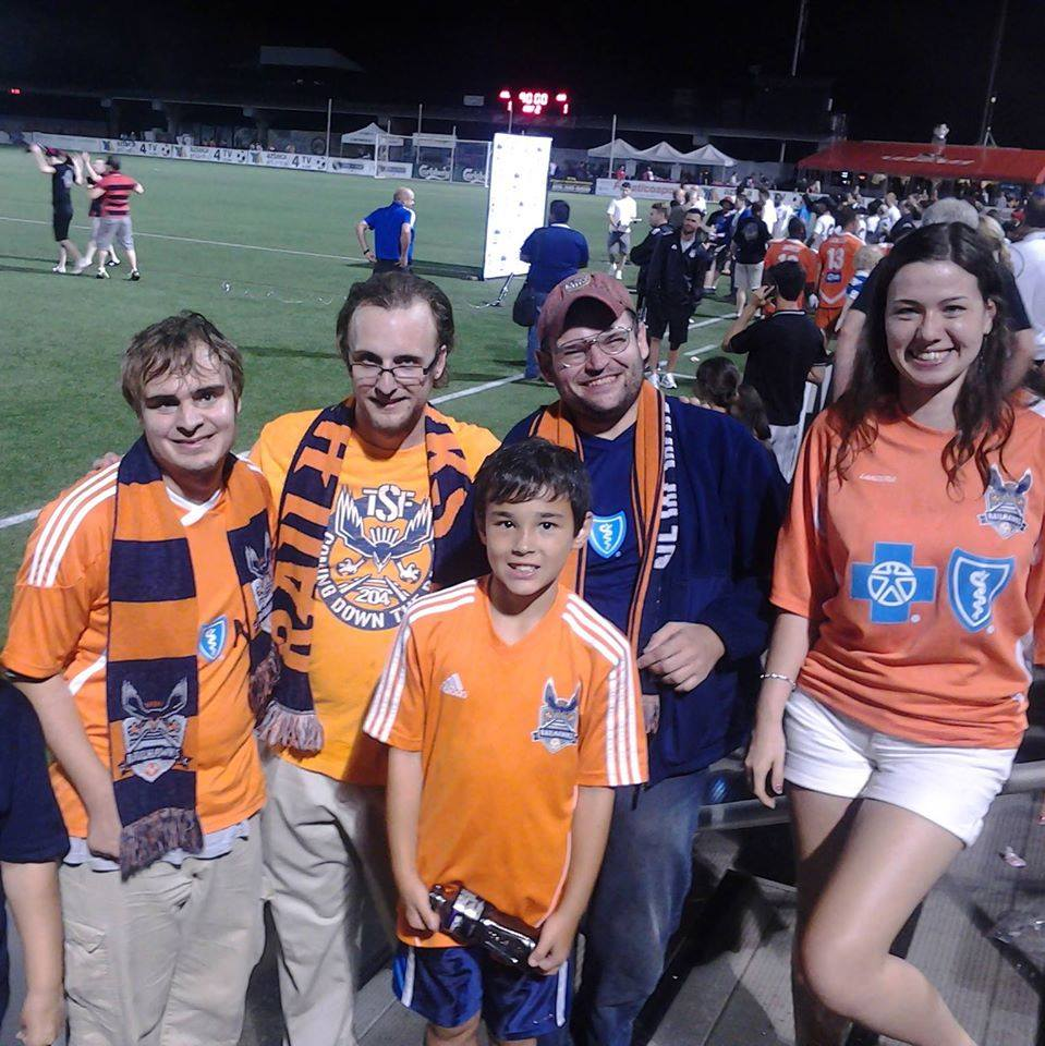 TSF at Atlanta Silverbacks Park