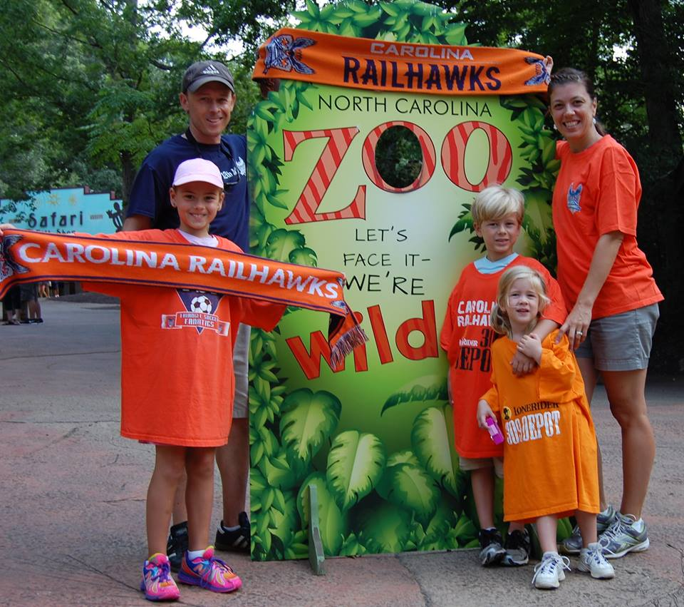 The Nieshallas take over the NC Zoo in Asheboro