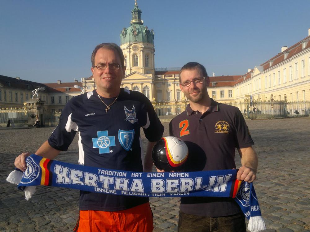 RailHawks fans in Berlin