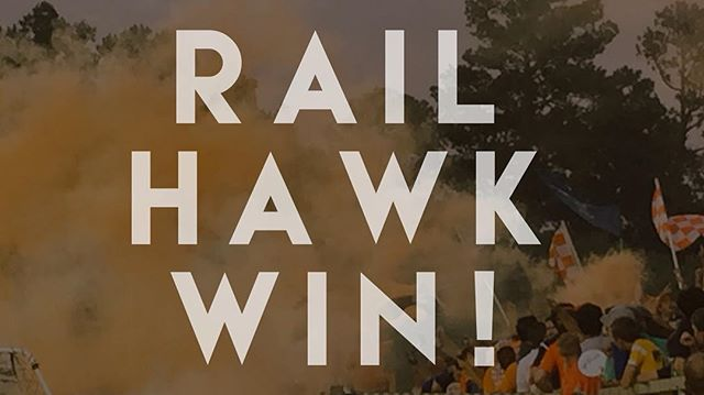 ICYMI: the RailHawks won! Carolina gets a great 1-0 victory in Fort Lauderdale last night. Next up is a home game against Miami on Friday.