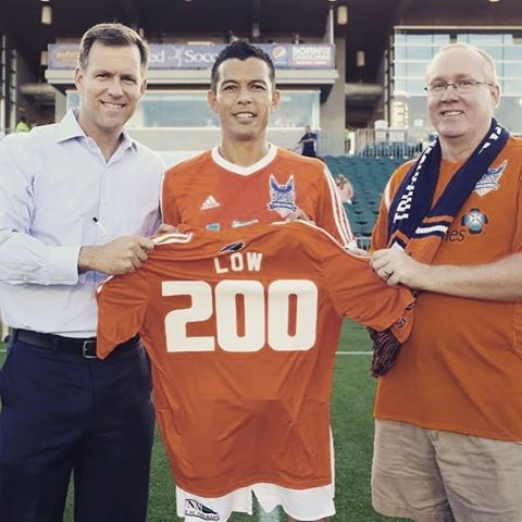 Good luck @kuponolow on the next phase of your career. First on the scoresheet, first in RailHawks fans' ❤❤❤