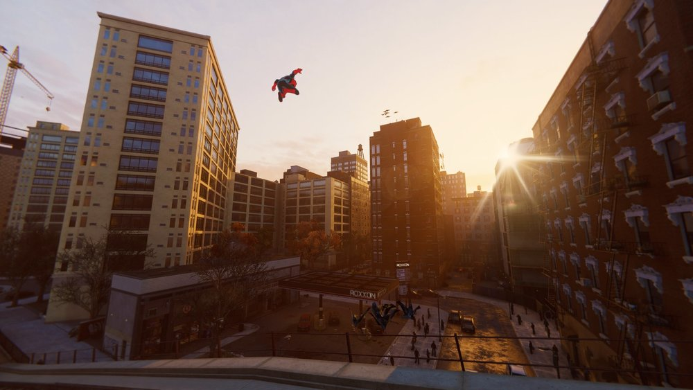 Flying high in Marvel's Spider-Man