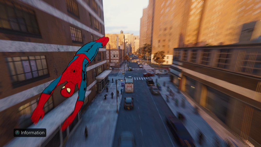 Special suit unlocks let you use the Spider-Man of your choice.