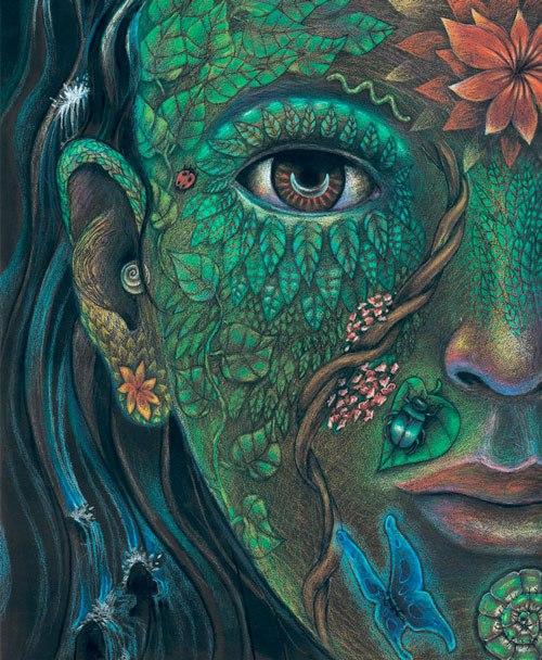 "Artwork ""Plant Life"" by  Clancy Cavnar"