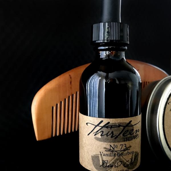Gentleman Beard Kit with Comb Thirteen Thieves