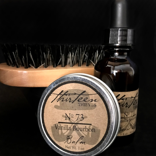 Beard Grooming Kit with Brush Thirteen Thieves