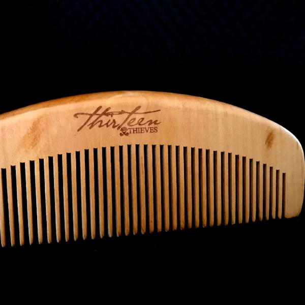 Cherrywood Beard Comb
